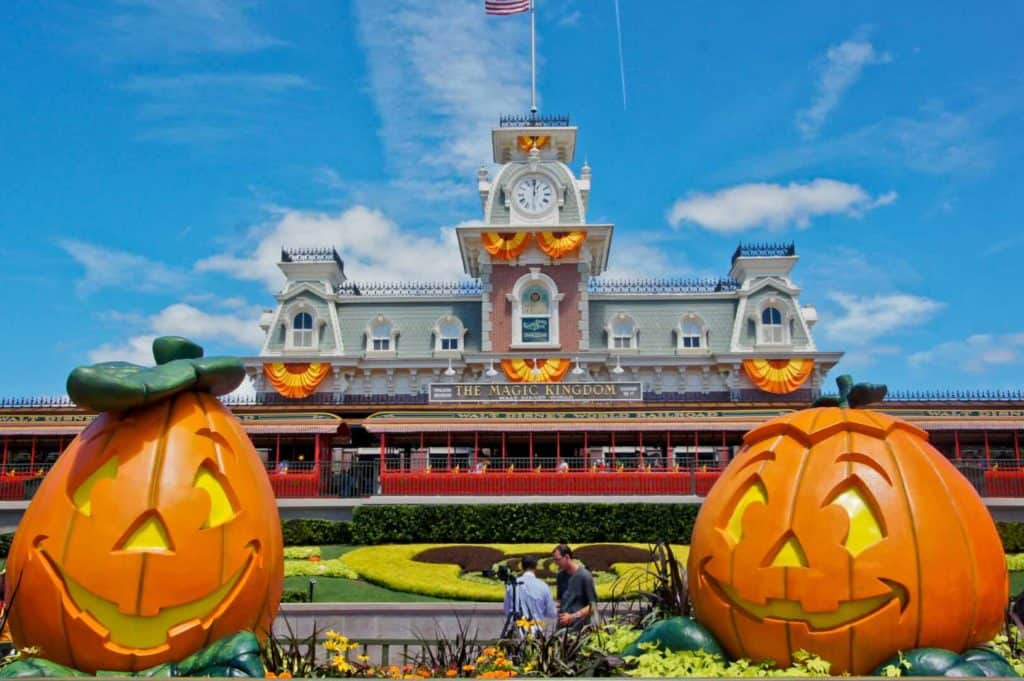 halloween Disney Magic Kingdom