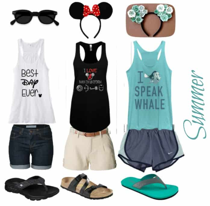 summer wear disney world