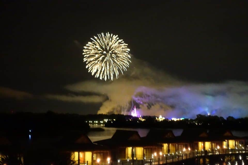 Disneys Polynesian Village Resort fireworks view