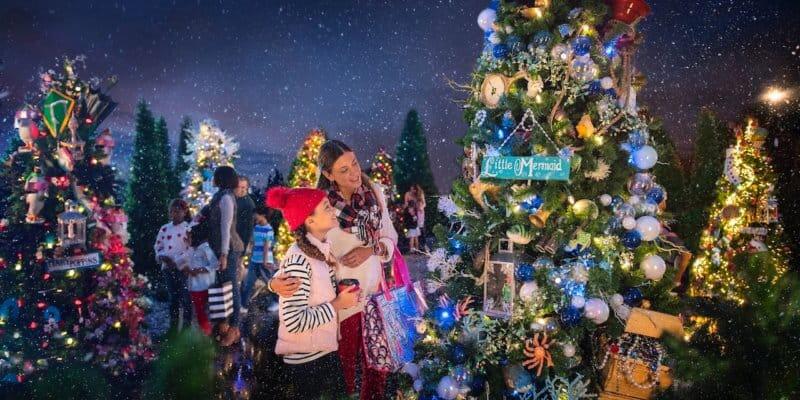 Christmas Tree Trail-Disney-Springs