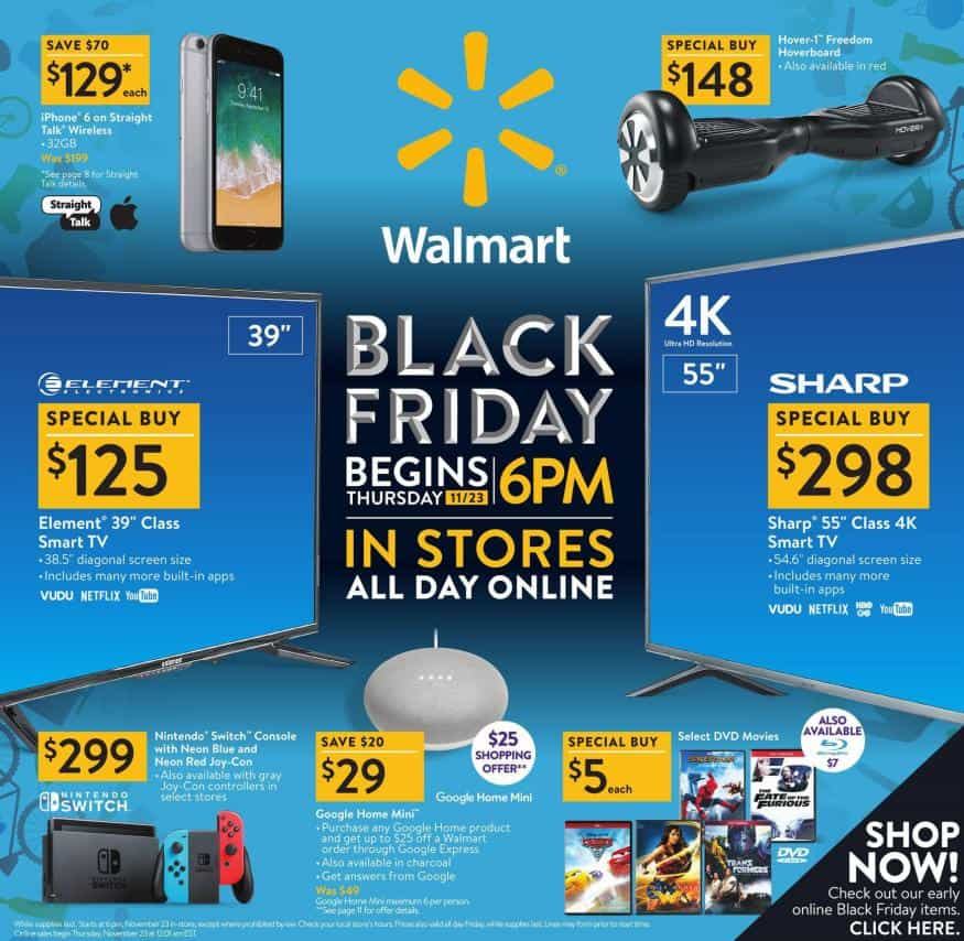 black friday walmart 2019