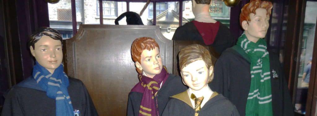 bufandas Harry Potter Universal Orlando