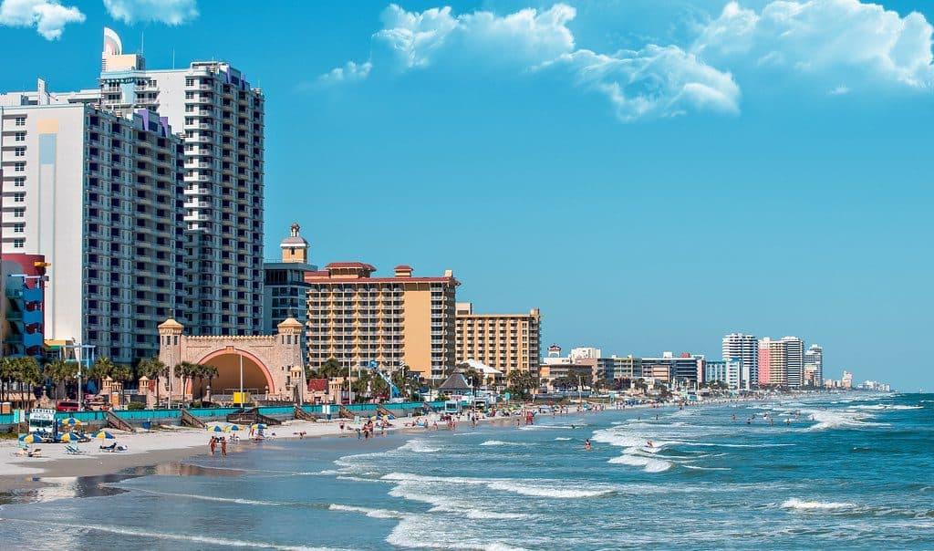 Daytona Beach las mejores playas de la florida