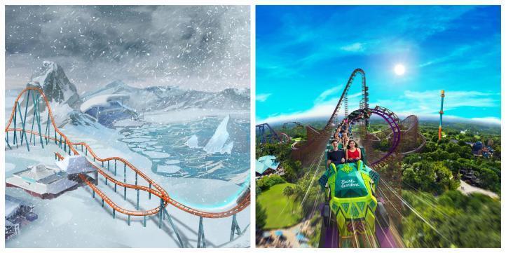 ce Breaker Roller Coaster SeaWorld Orlando