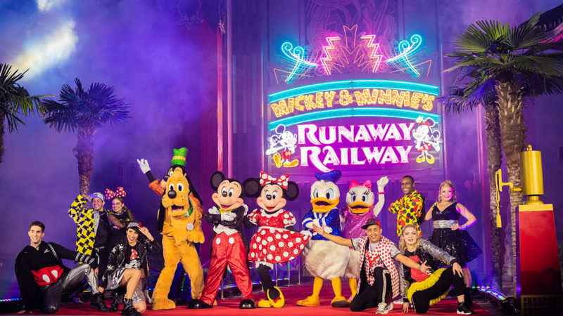 mickey minnie runaway railway opening