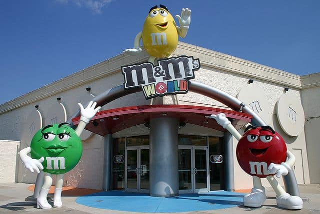 m&m store-florida-mall