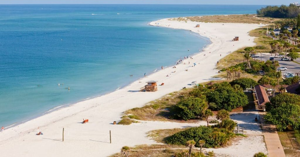 siesta key las mejores playas de la florida