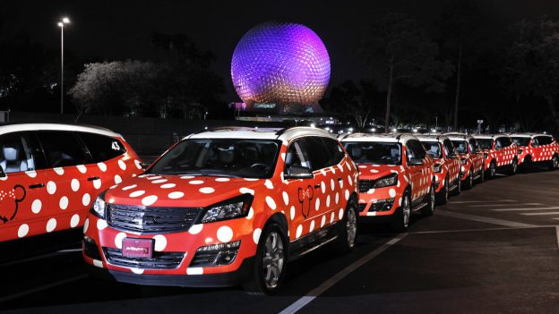 Disney Minnie Van Service
