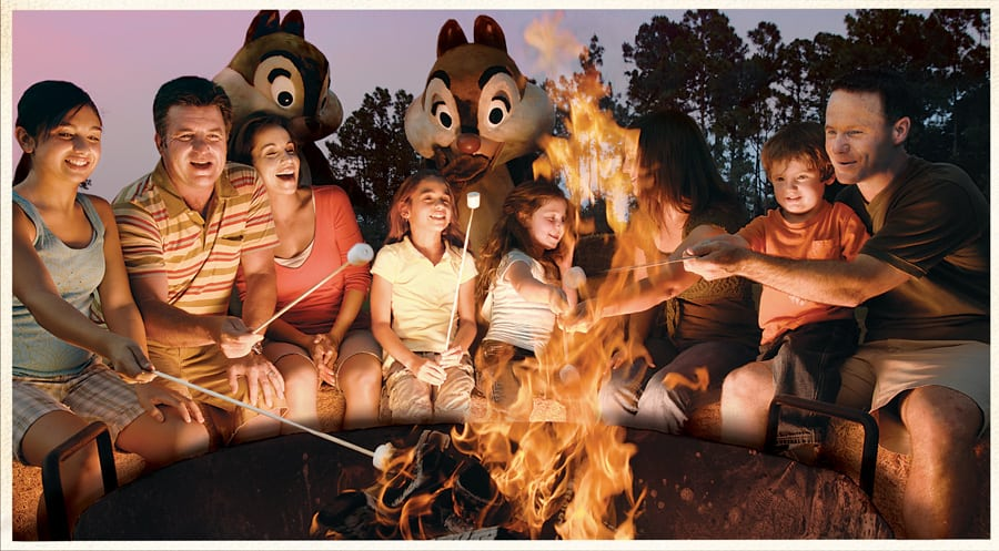 Fort Wilderness Campfire