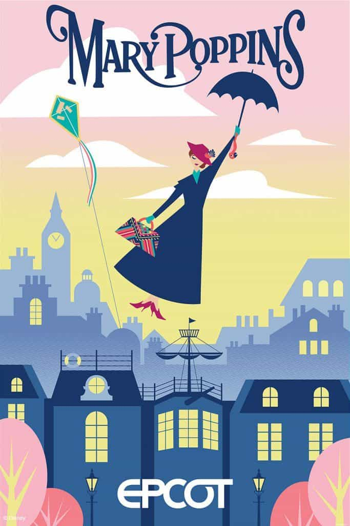 Mary-Poppins-Epcot-poster