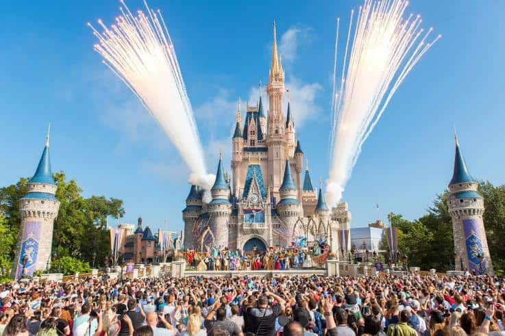 castillo de cenicienta disney magic kingdom