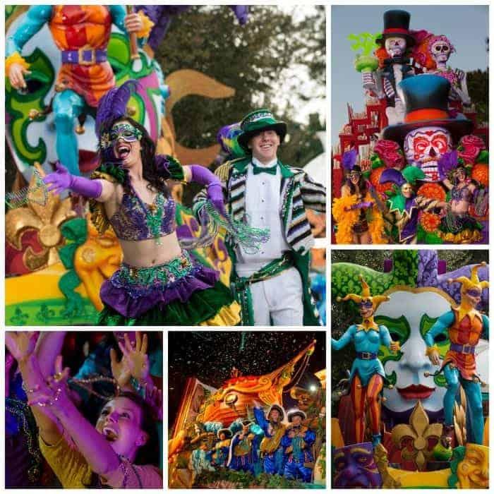 Mardi Gras Universal Orlando