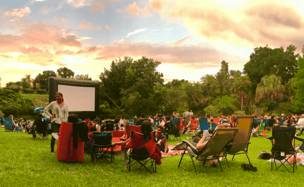 Popcorn Flicks en Central Park gratis