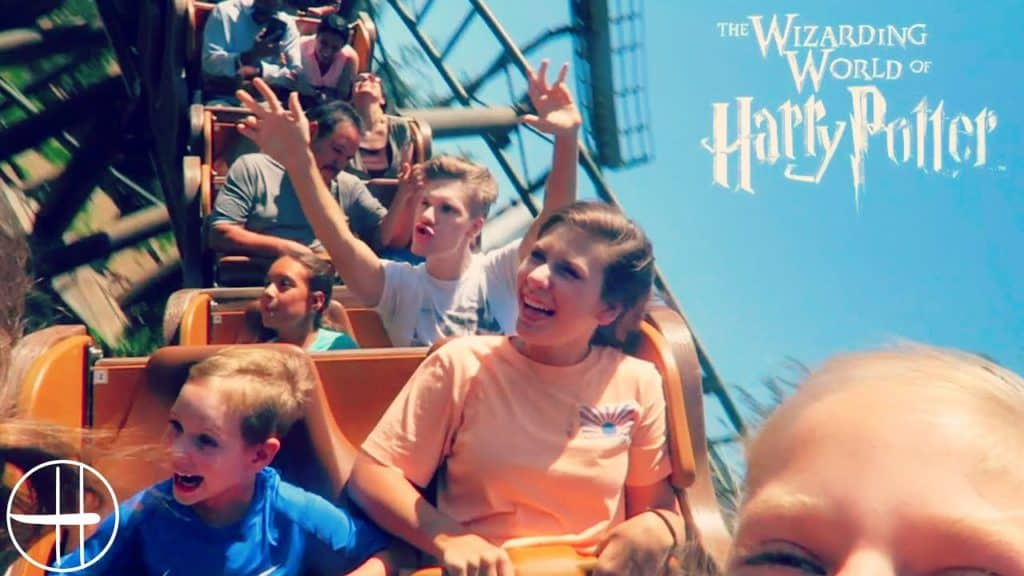 wizarding world of harry potter roller coaster