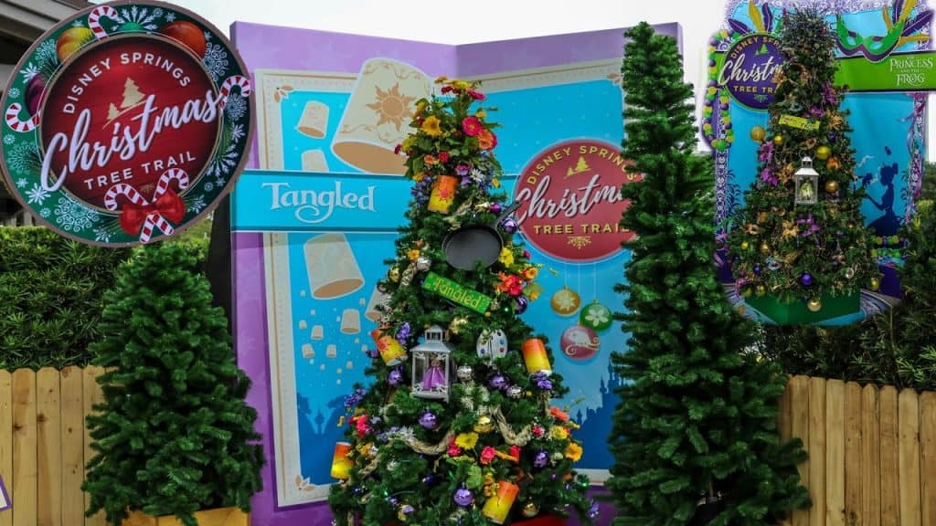 Christmas Tree Trail en Disney Springs