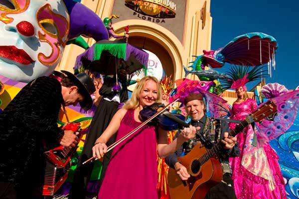 Universal Orlando Mardi Gras a