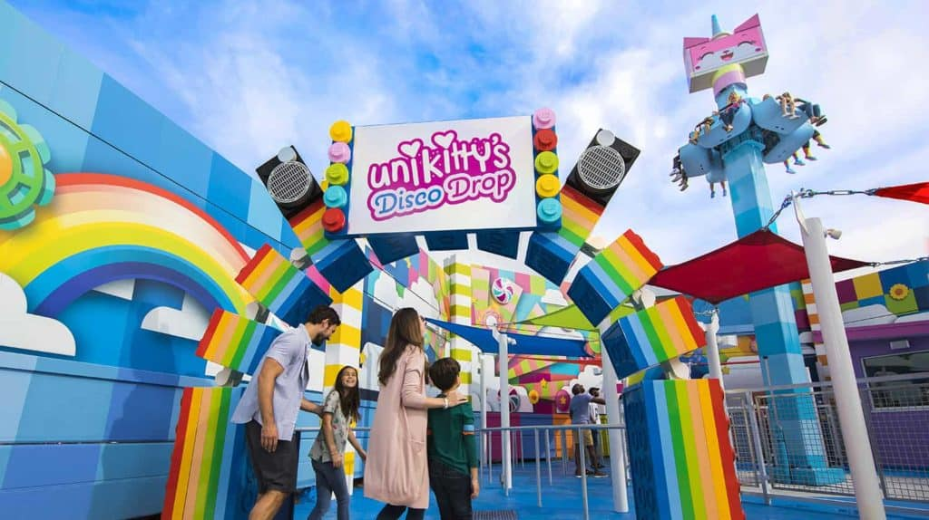 Unikitty's-Disco-Drop-at-LEGOLAND-Florida