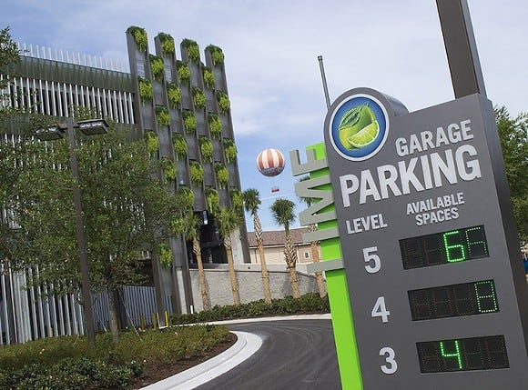 disney springs parking