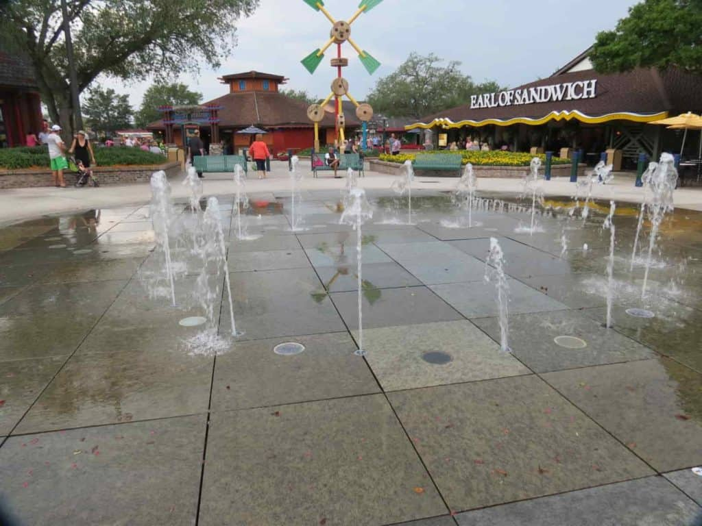 water games disney springs