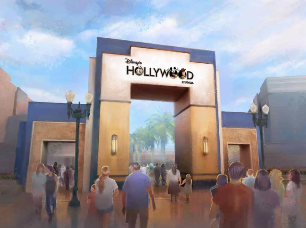 new logo disney hollywood studios