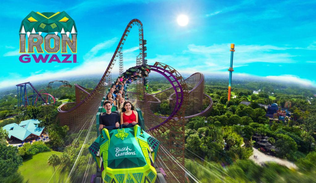 2020 BuschGardensTampaBay Rides IronGwazi