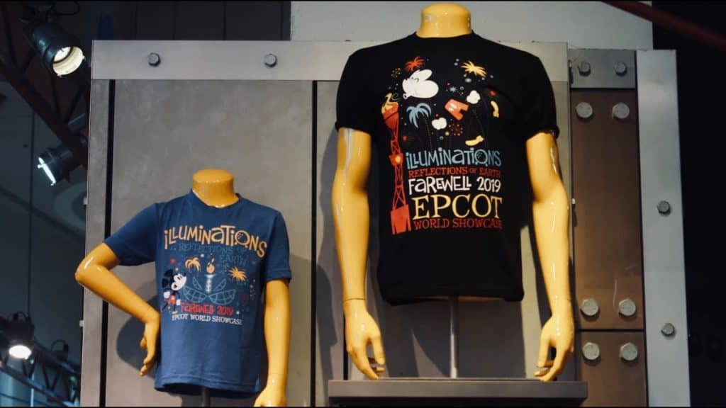 "Farewell IllumiNations"" merchandise"