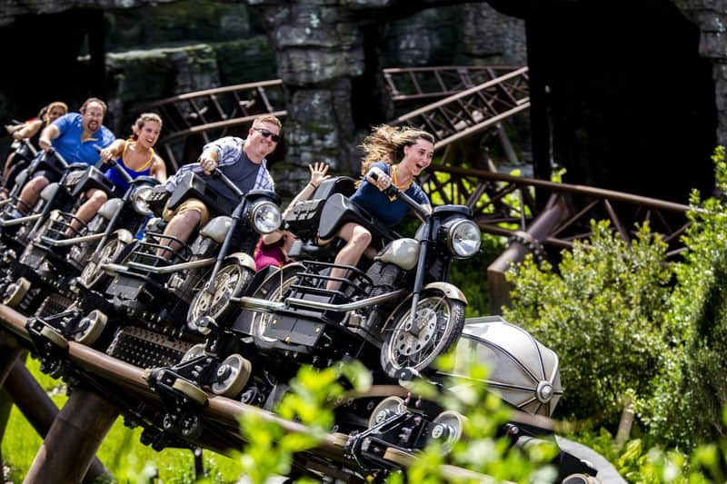 Hagrid's Magical Creatures Motorbike Adventure11