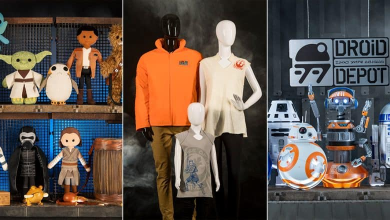 Immersive Merchandise of Star Wars Galaxy's Edge
