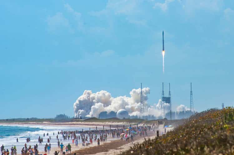 rocket launch cocoa beach
