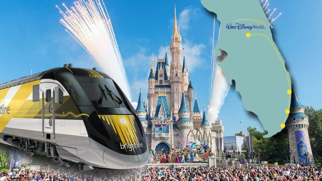 Walt Disney World and Brightlin