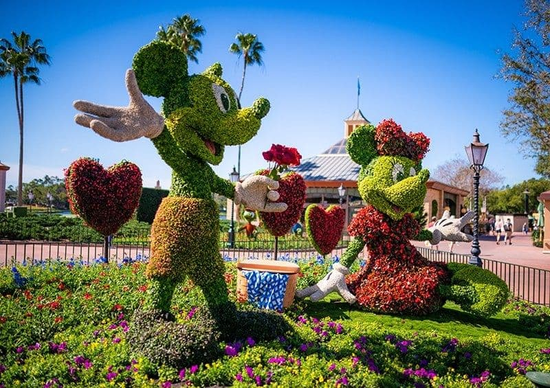 epcot flower and garden topiaries